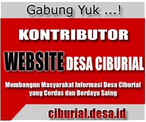 Pendaftaran Kontributor Website Desa Ciburial