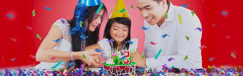 Menjadikan Anak Senang Saat Ulang Tahun