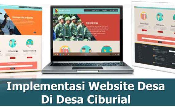 Implementasi Website Desa Ciburial (Sejarah Singkat)
