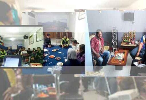 Kegiatan Praktikan STKS Bandung dengan Karang Taruna Desa