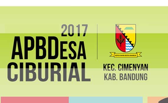 Infografis APBDes Ciburial 2017