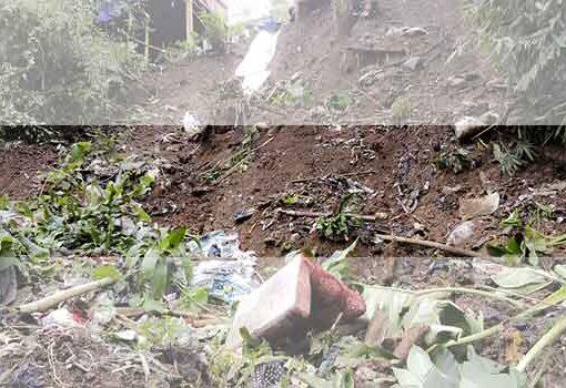 Laporan Singkat Pemeriksaan Gerakan Tanah di Kampung Ceger RW 12 Desa Ciburial